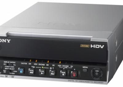 Magnetoscope Sony HVR M10E