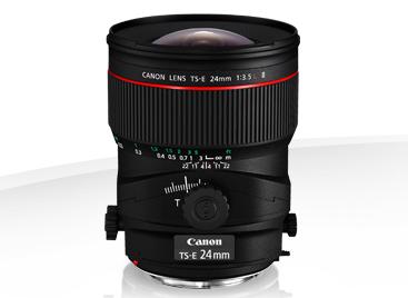 Canon 24 mm à décentrement