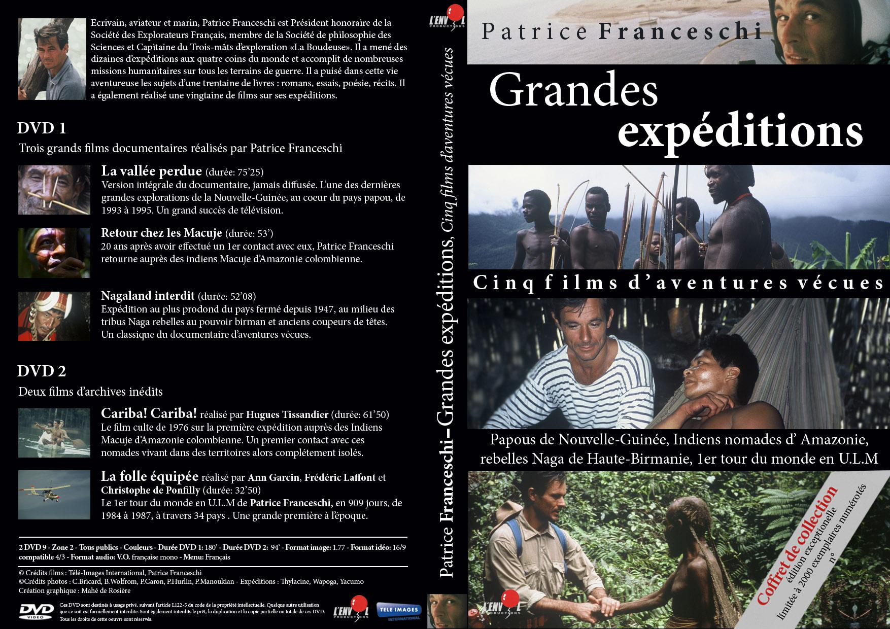Patrice Franceschi Grandes Expéditions