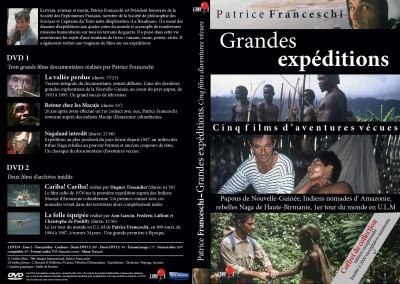 Coffret DVD Patrice Franceschi