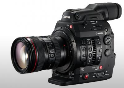 Caméra Canon C300 Mark II